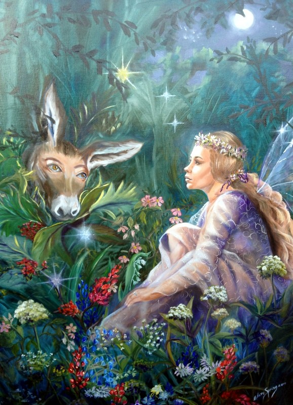 Midsummer Night's Dream by Claire Spring