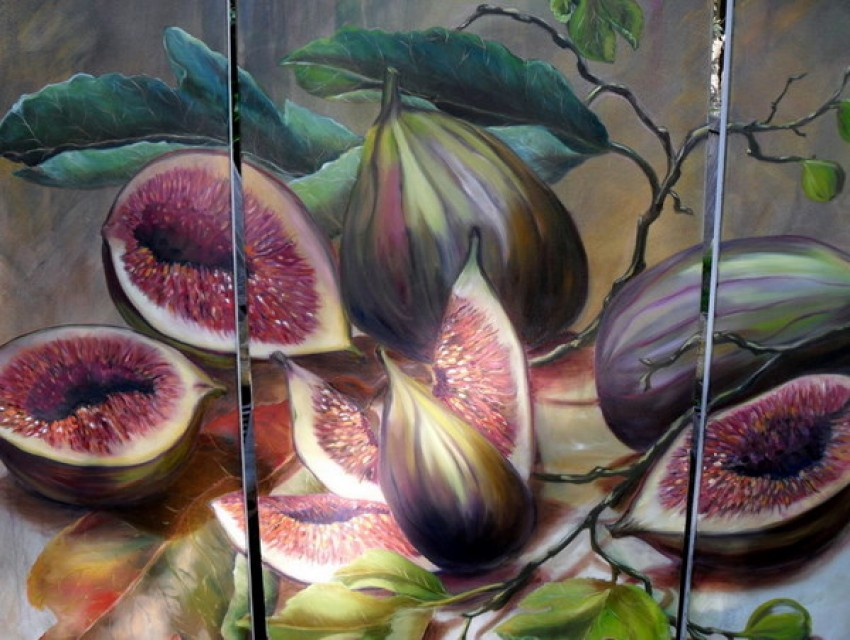 Fig Tryptich by Claire Spring