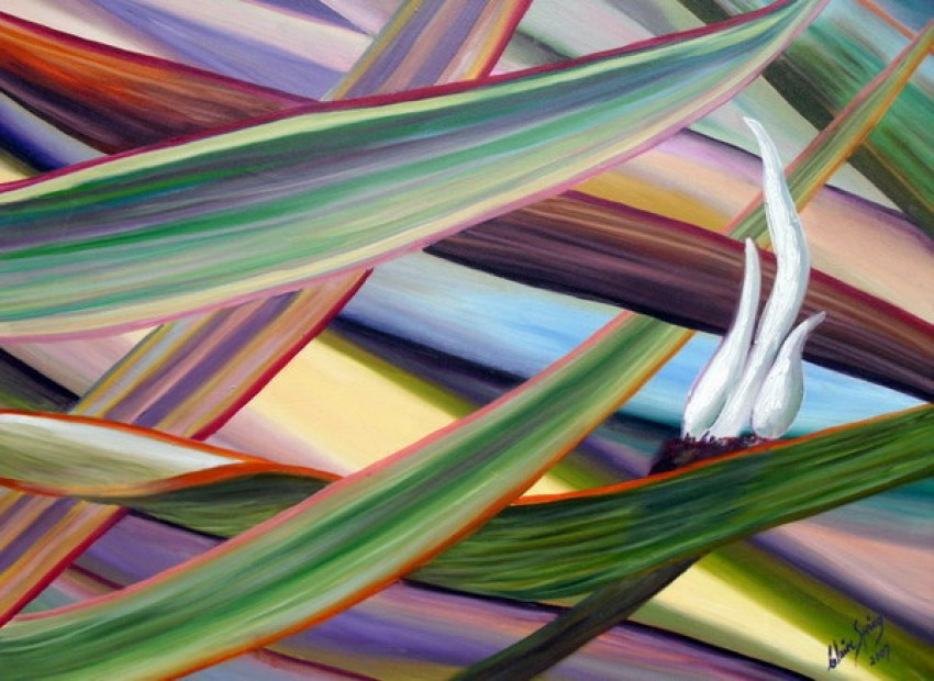 Grasses of the Pampas 1 by Claire Spring