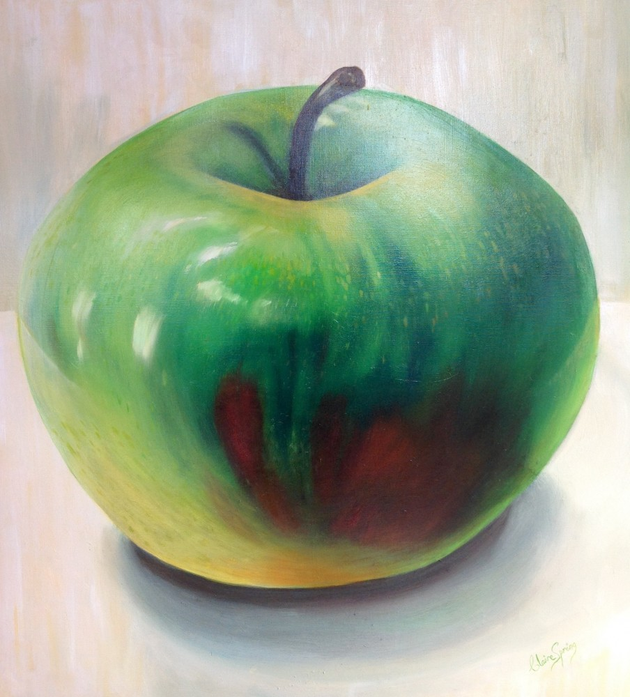 Green Apple by Claire Spring