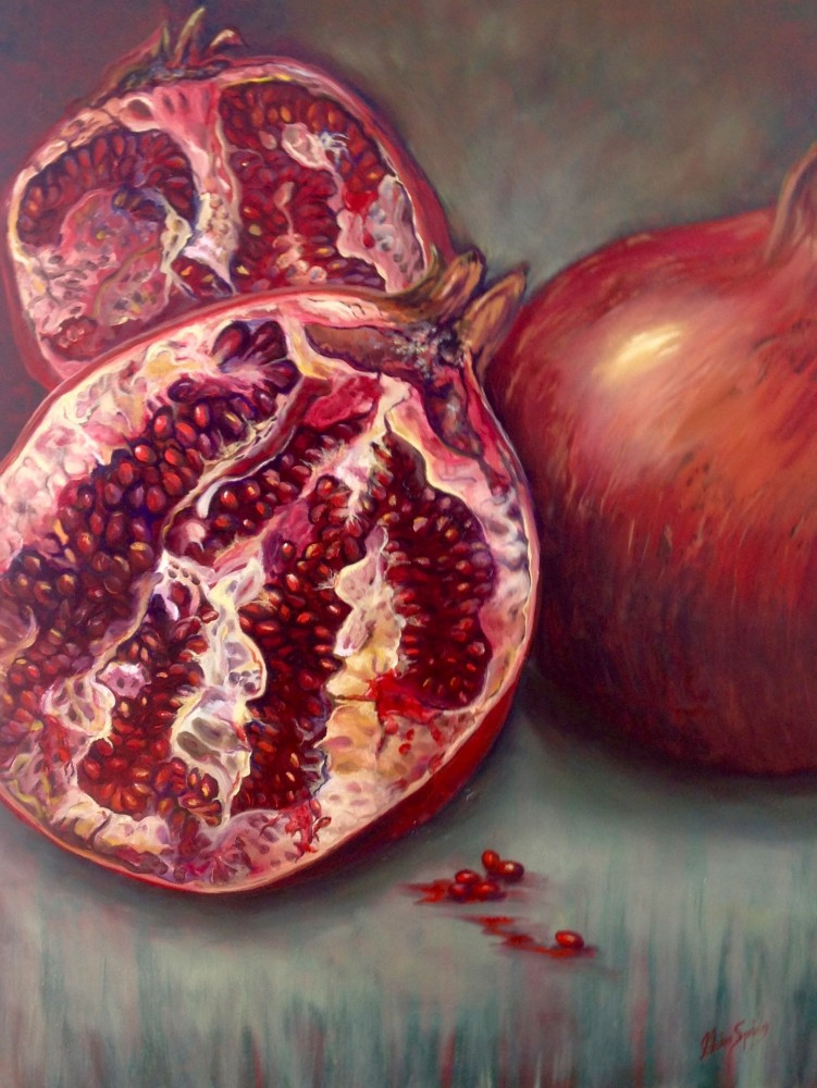 Pomegranate by Claire Spring