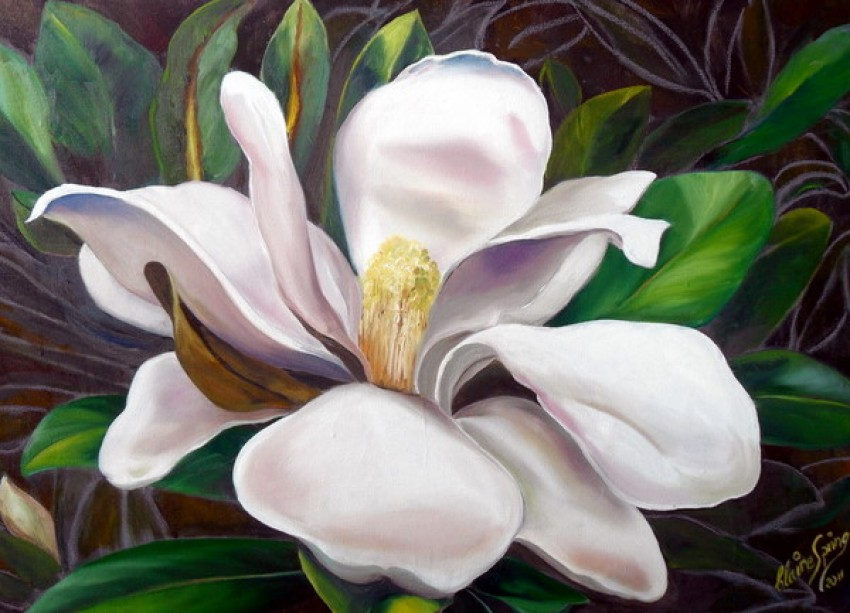 Little Gem Magnolia by Claire Spring